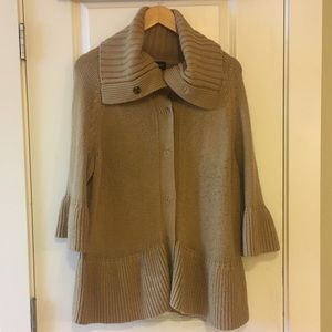 ⚪️ Lane Bryant Cowlneck Turtleneck Pea Coat 22/24
